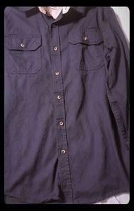 Wrangler button up long sleeve shirt